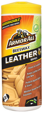 Armor All Beeswax Leather Wipes